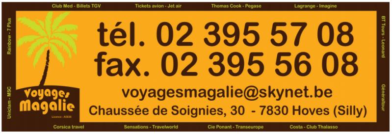 Voyage magalie