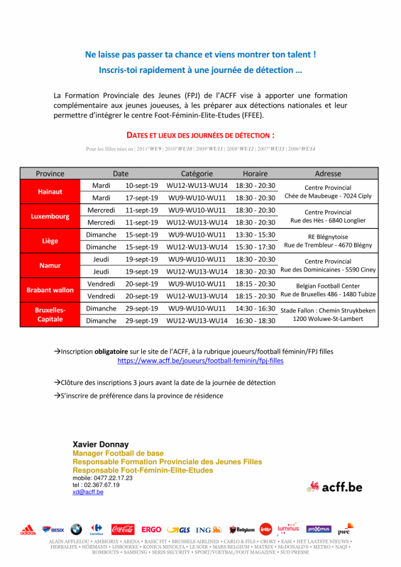 Acff fpj filles 2019 2020 detection provinciale invitation page 2