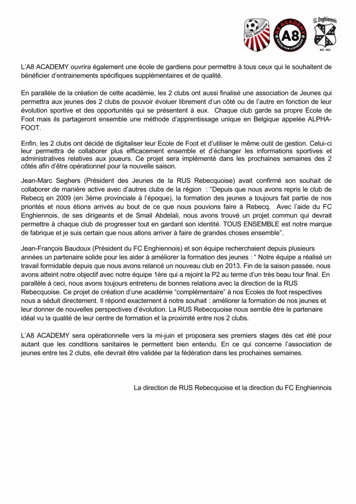 Communique de presse a8 academy association rusr fce interne page 2