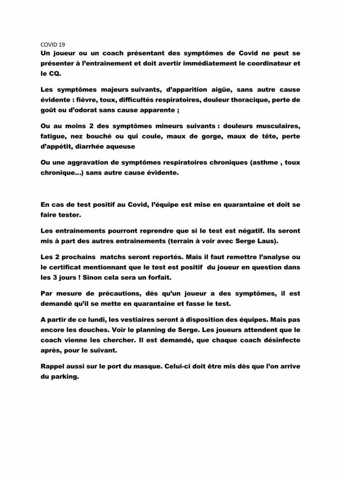 Covid 19 reglement page 1