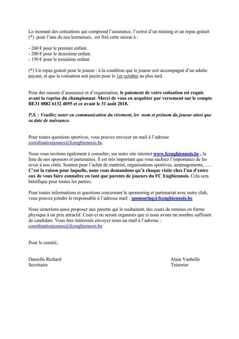 Lettre cotisation 18 19 page 2