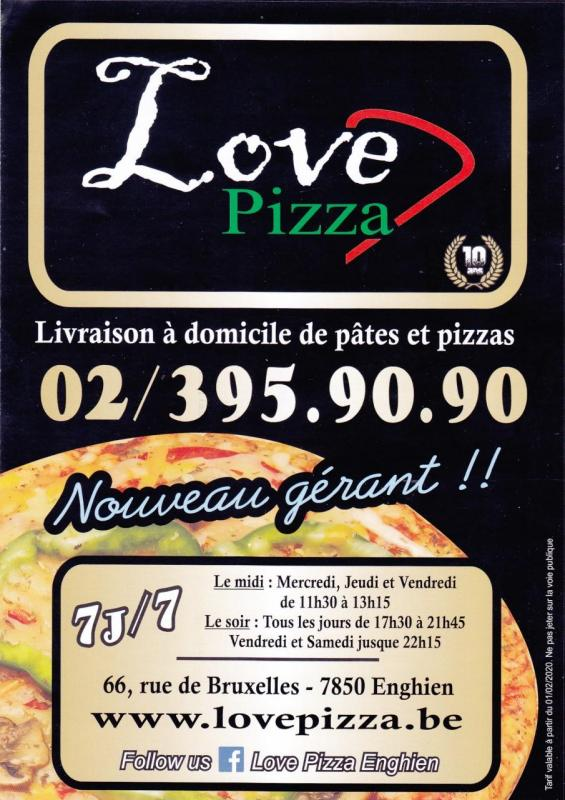 Love pizza