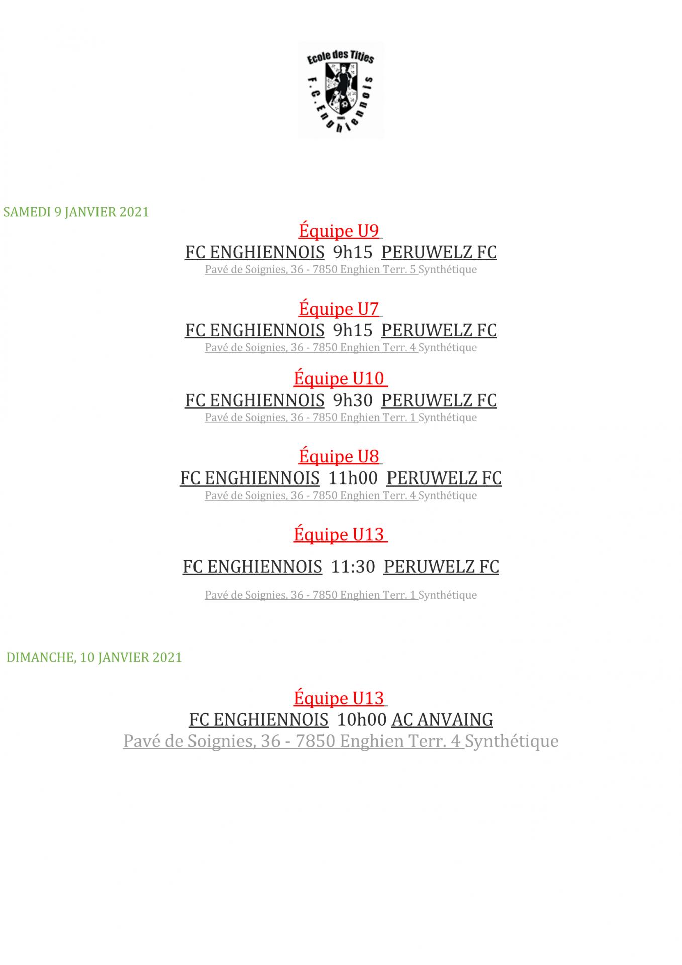 Samedi 9 janvier 2021 match de preparation page 2