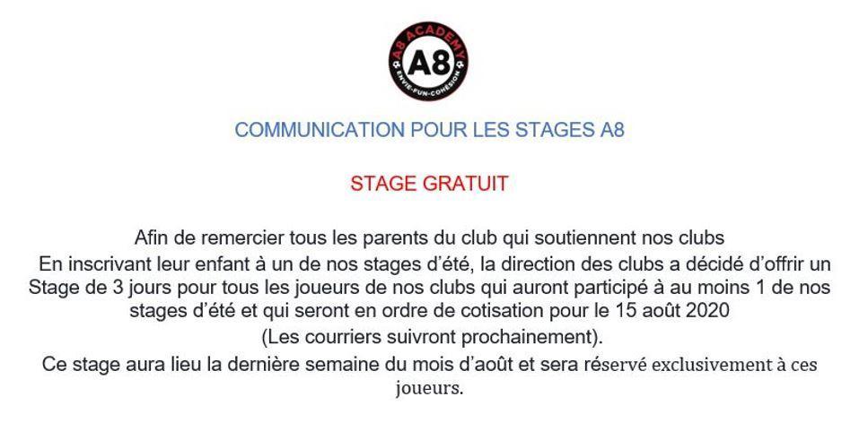Stage com 19 juin 2